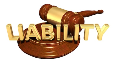 Liability Law Concept 3D Illustration
