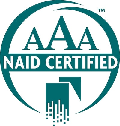 NAID AAA Certified Logo Close Cropped